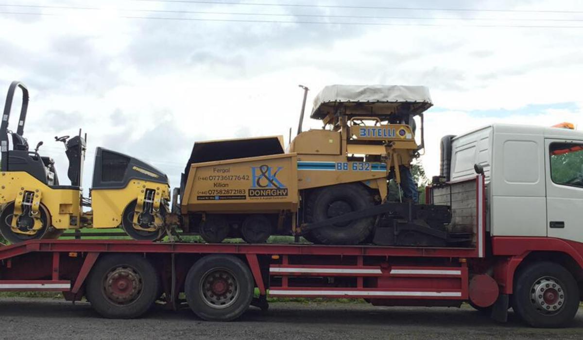 Contact F & K Donaghy Tarmac & Asphalt Contractors